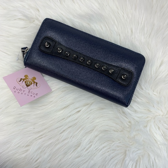 Ruby Coutre Handbags - Ruby Blue Blue Wallet